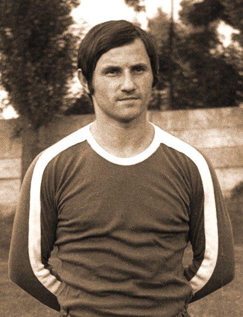 Душан Стефановић у најбољим фудбалским данима.