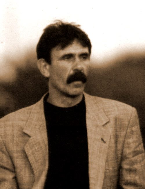Живојин Илић - Чале, један од великана трстеничког фудбала.