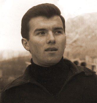 Заре Ивановић - млади репрезентативац Југославије